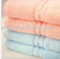 100% Cotton Terry Bath Towel Jaquard Face Towel