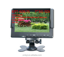 "Hot sale!!7"" LCD Field Monitor with Advanced Functions for Full HD Camera 7 inch 16:9 LED field monitor with 3G-SDI HD MI"