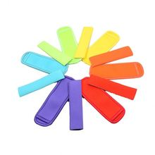 Hot selling baseball style neoprene ice popsicle holder in stock