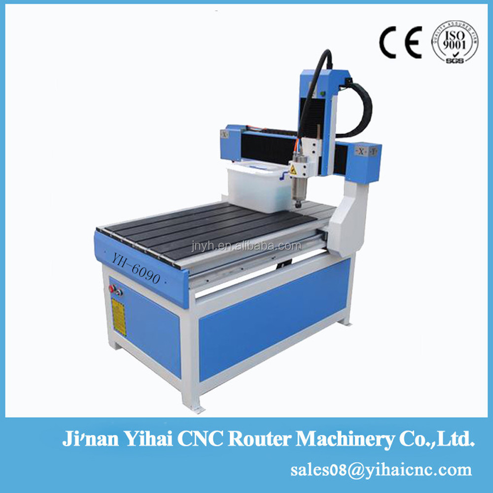 YH6090 ball screw wood carcing small cnc router machine