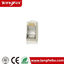 Cat5e shielding connector lan cable plug