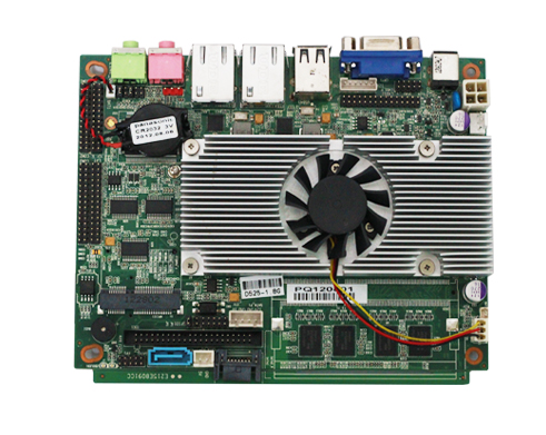atom dual lan motherboard with Mini-PCIE socket