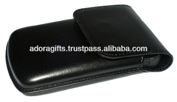 ADALMC - 0011 leather mobile phone covers / mobile phone leather covers / black covers for mobile
