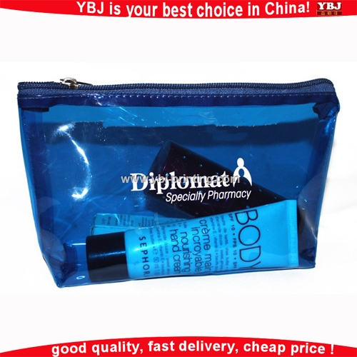 YBJ 2016 China manufactory clear cosmetic Pvc bag hot sale china