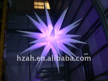 Inflatable Lighting Star Model For Party Decoration