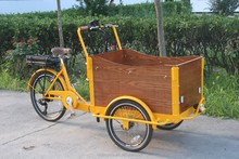 pedal assisted electric tricycle cargo recumbent trike