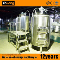 Nice price 500L the beer machine mixes by beer processing machine, beer manufacturing equipment