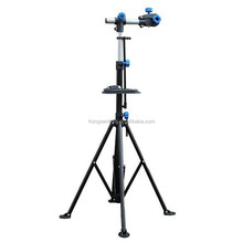 Pro mechanic adjustable bike repair stand telescopic arm cycle bicycle rack