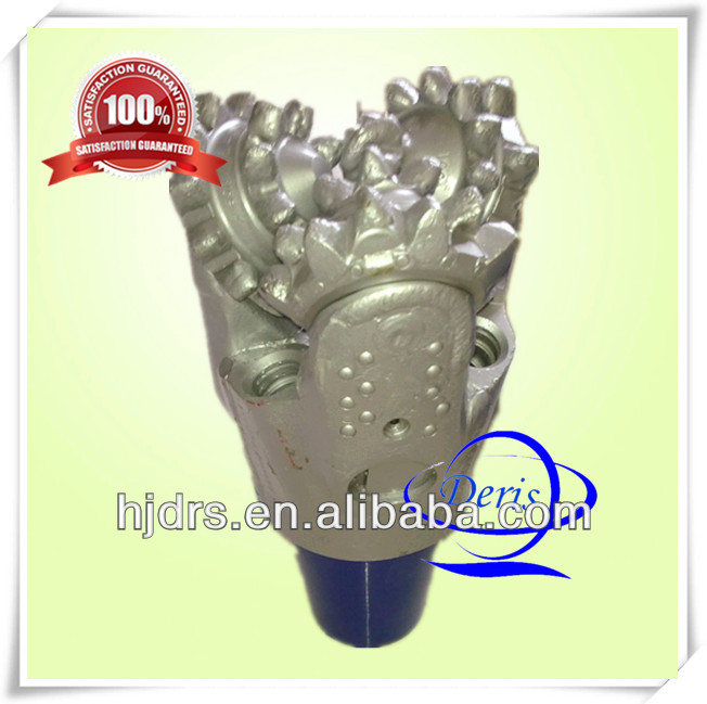 SKW non-sealing rolling bearings steel tooth tricone drill bit