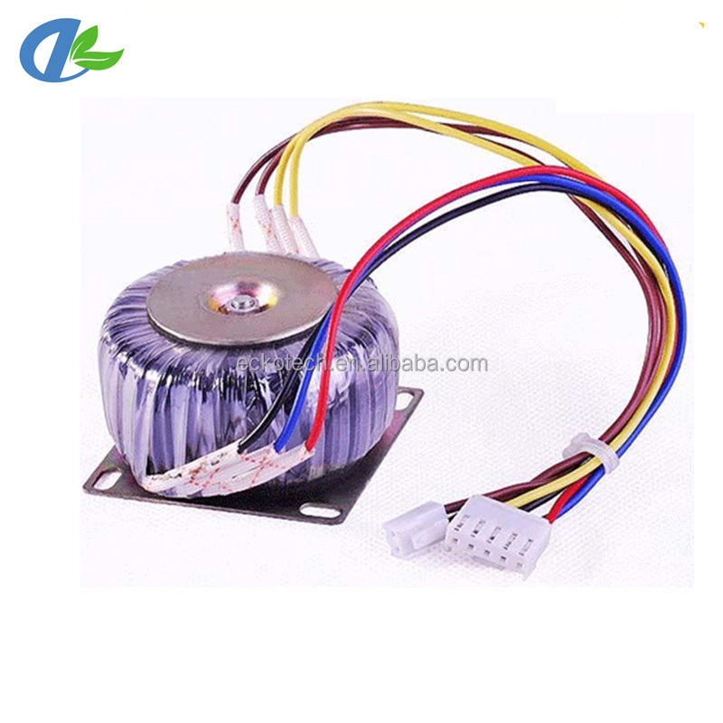 Ac toroidal single phase electrical power transformer 230v to 100v