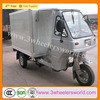 Chongqing 200cc Motorized Tricycle, cargo tricycles driver cabin and closed box for Sale