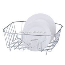 chrome plated kitchen dish drainer