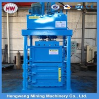 Horizontal Hydraulic Scrap Cardboard Baler,Hydraulic Baler Machine For Used Clothing