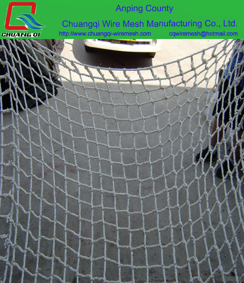 HDPE PP nylon polyester Children playground knotless Fence net