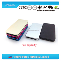 Promotional fashionable easy taken ultra thin Mobile phone battery 4000mAh