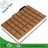 2015 Silicone Chocolate Notebook Cover Chocolate