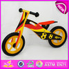 New and popular wooden kids balance bike for kids,new product kids balance bike for children,wooden toy kid balance bike W16C082
