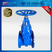 DIN Carbon Steel WCB Non-Rising Stem Wedge Gate Valve