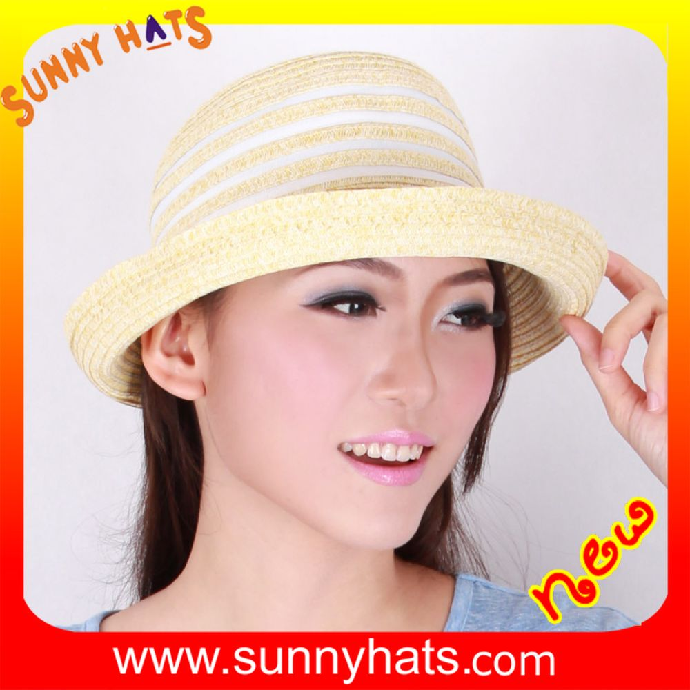 new style fashion ladies' sun visor flip up brim hat