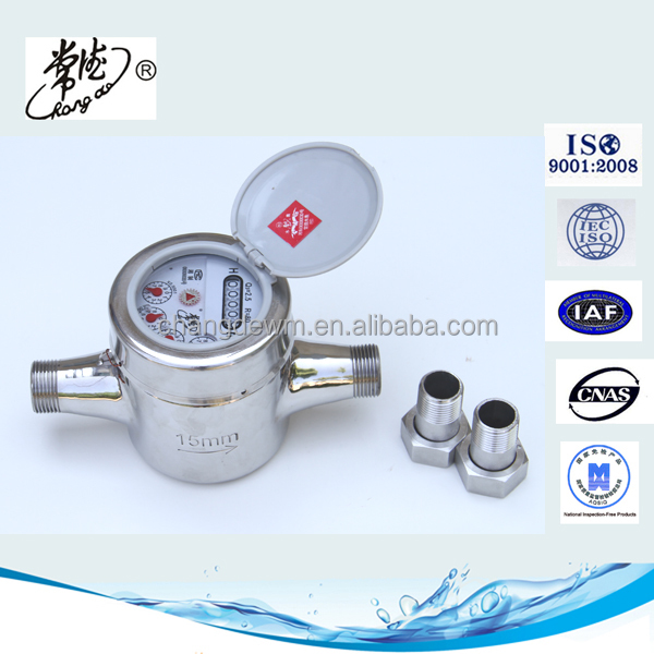 2015 China New Products Brass Pipe Fitting/waste water flow meter/water meter