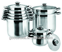 High Quality Stainless Steel Deep Soup Pots
