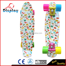 2016 High quality plastic gasoline skateboard for wholesale