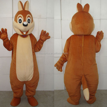 HI CE hottest character plush animal mascot costume the chipmunk mascot costume for sale