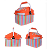 Hot sale foldable insulated lunch basket