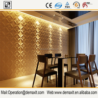 decorative special fiberglass rboard wall panel /plastic 3d interior wall panels/ fireproof eco-friendly