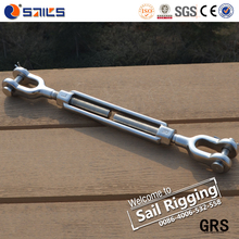 small size us type stainless steel jaw jaw turnbuckle