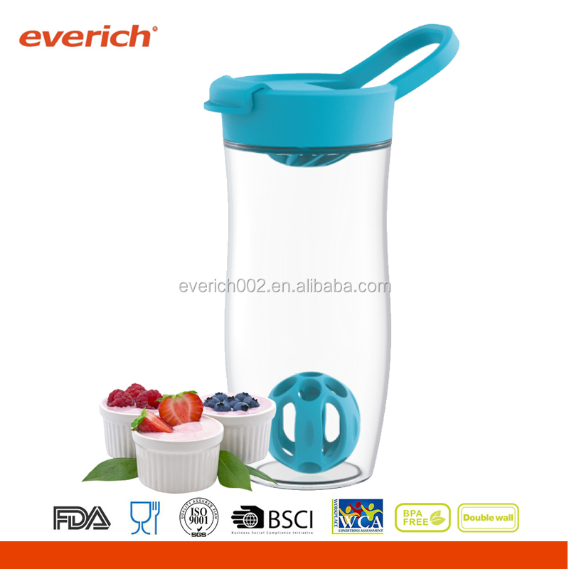 everich personalized Tritan BPA free shake cup with ball