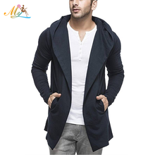 Wholesale New Design casual Long Sleeve Men Jackets with Hoodie