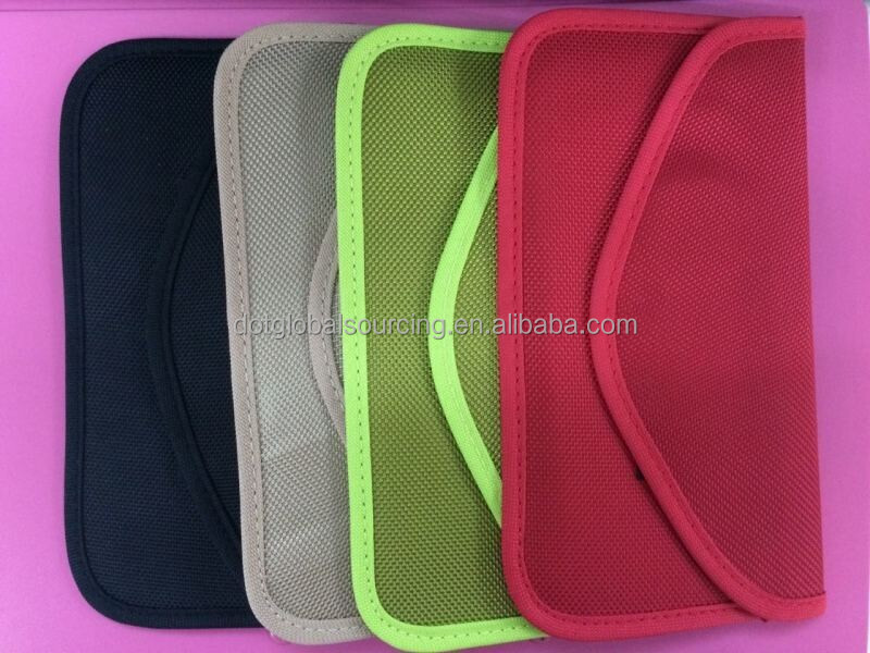 Personality Nylon Colorful Cell Phone Signal Shielding Pouch Bag