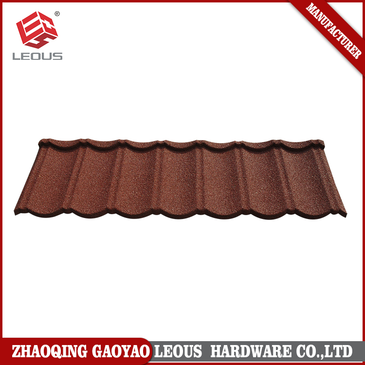 Colorful Stone Coated Aluminum Metal Roof Tiles,Stone Chip Coated Roofing Sheet