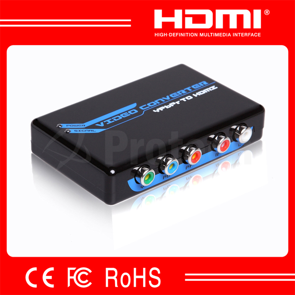 componet to hdmi signal converter,ypbpr R/L to hdmi converter