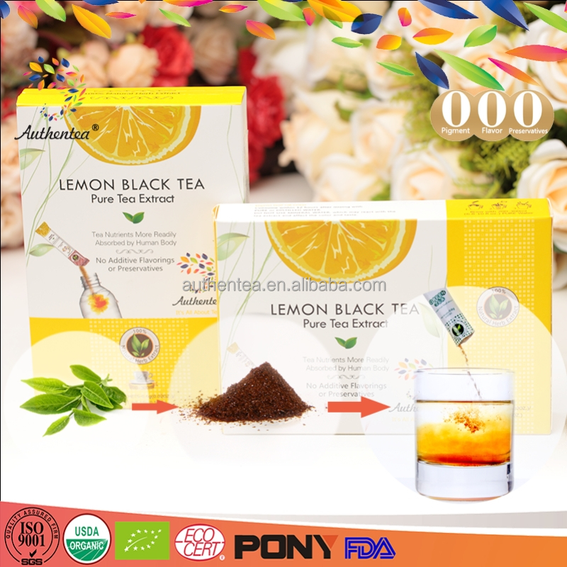 Good Selling Health Benefit Instant Blooming Lemon Tea