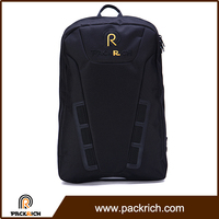 Top quality black trendy school backpacks for university students