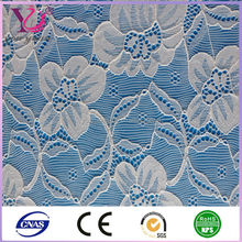Franch jacquard lace fabric for wedding dress