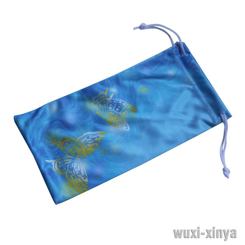 Sunglasses Pouch with Printing, Made of Microfiber, Various Sizes and Colors are Available