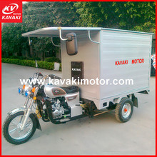 Guangzhou Motorcycle Factory Supply Five Wheel Three Wheel Truck Cargo Tricycle For Food