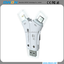 China factory supplier high speed USB 2.0 micro TF SD card reader