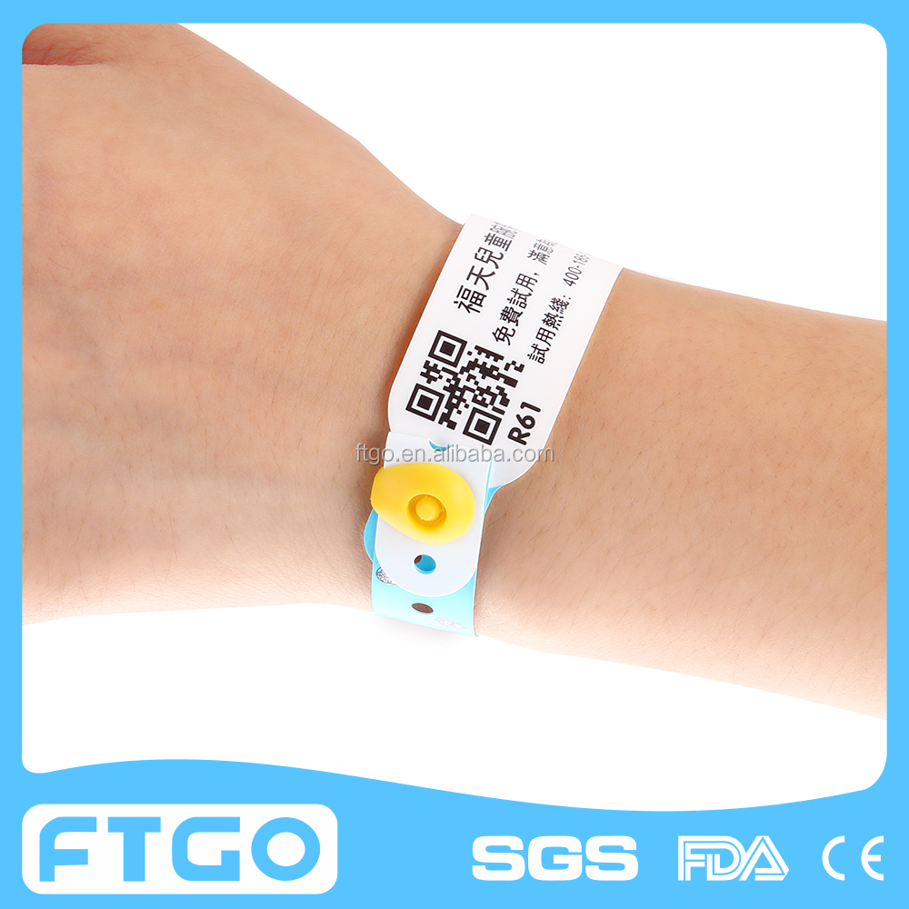 Rave Reviews Free Custom Secure Snap Closure Wristbands