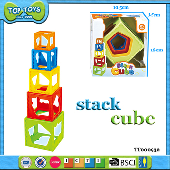 baby toys baby stack cup plastic baby stacking toys for kids