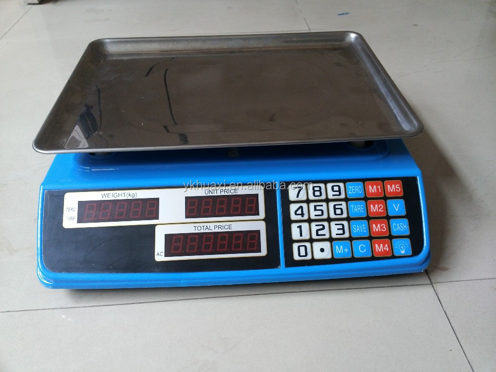 Electronic Weighing Scales for Fruit and vegetables