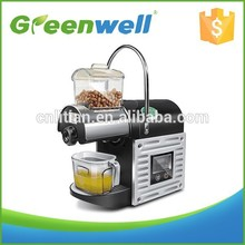 Flexible payment terms acceptable Made in china mini screw oil press/home made oil press machine