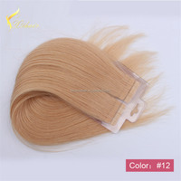 2016 New Hair hand tied skin weft, PU skin tape human hair extension/hand tied 100% indian remy skin/pu skin weft hair