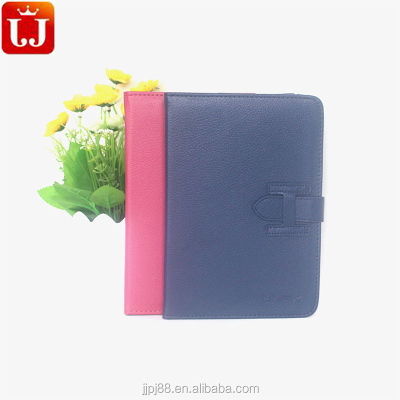 Helpful handle tablet leather case for iPad mini 2 with card slots