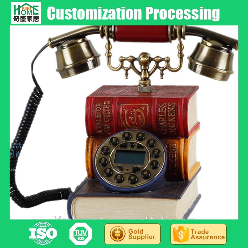 Novelty Vintage European Style Book Shape Antique Style Telephones