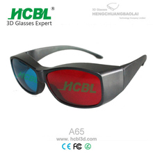 PC Frame Reusable Passive Circular Polarized 3d Glasses For 3D 4D 5D 6D 7D Movies