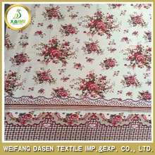 100% Polyester Micro Fiber Bed Spreads Fabrics